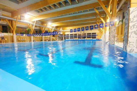 Screen enclosure lighting for pools